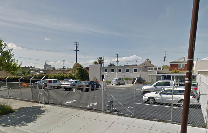 This vacant lot at 2748 San Pablo Ave. is slated to become an affordable housing project. Image: Google Maps