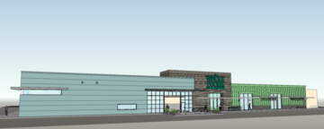 An architectural rendering for the West Berkeley Whole Foods. Image: Field Paoli