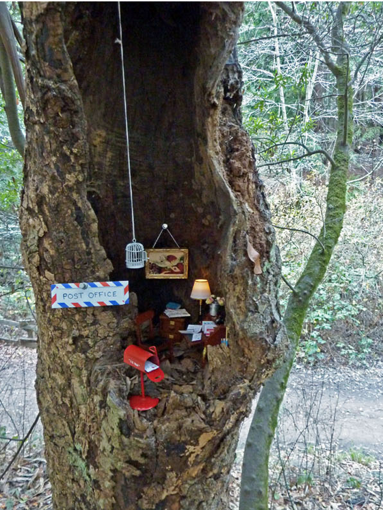 The Tiny Treehouse at Tilden Park. Photo: Leafcutter Designs