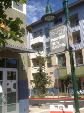 Fourth & U is one of several new apartment complexes in West Berkeley. Photo: Natalie Orenstein
