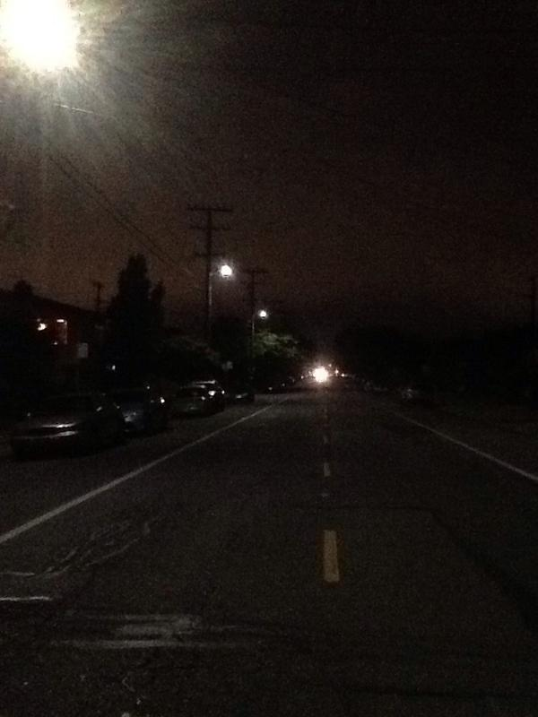 Katherine Baylor said she likes the new lights on her Berkeley street, and shared this photograph.