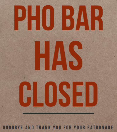 Image: The Pho Bar
