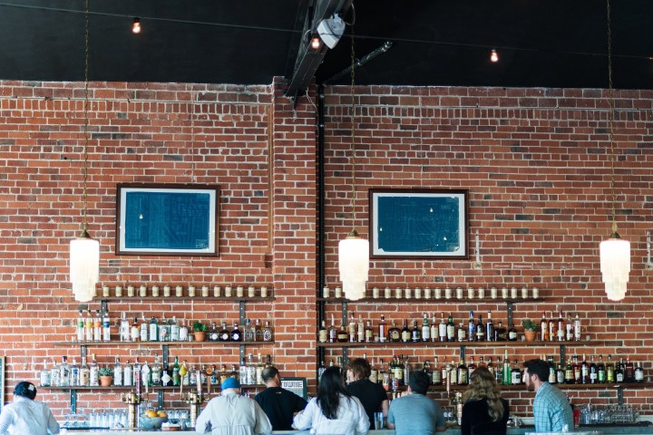 Townie, which has just opened in the former Caffe Venezia space in Berkeley, is a bar with (culinary) benefits. Photo: Townie