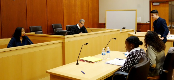 Mock trials presided over by a real Alameda Superior Court judge turn teenagers into attorneys and defendants for the day.