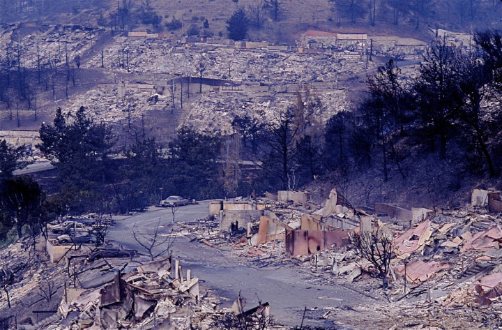 Some dispatchers have been with the department for years, and remember the devastation caused by the 1991 Oakland-Berkeley Hills fire. (See related images.) Photo: Cal OES