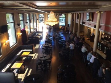 Restaurant, nightclub Capone's Speakeasy, which has just opened in Alameda. Photo: courtesy Capone's