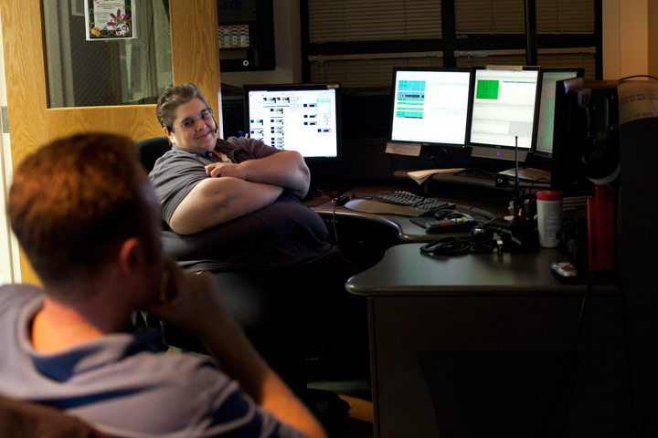 """Berkeley dispatch supervisor Kim Reeve: """"Any mistake you make can be fatal for somebody."""" Photo: Emilie Raguso"""