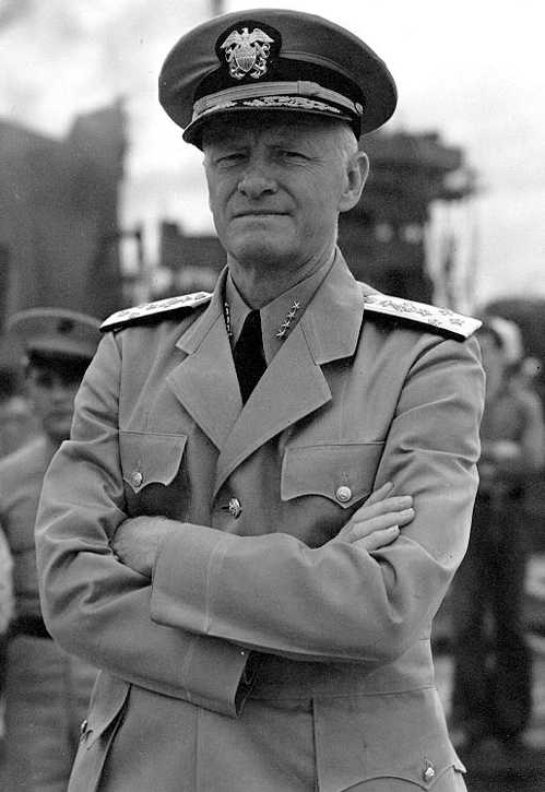 Admiral Chester W. Nimitz. Photo: Berkeley Historical Plaque project