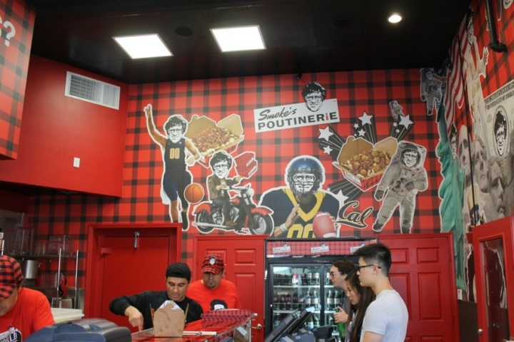 Smoke's Poutinerie, which has just opened in Berkeley. Photo: Shelby Pope