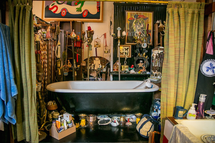 How quirky is berkeley it is helly welly quirky for Quirky bathroom ideas