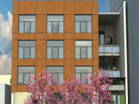 A rendering of 2711 Shattuck Ave. Image: Lowney Architecture