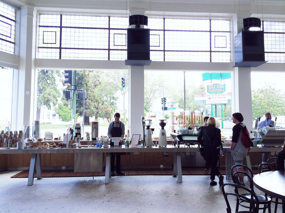 Blue Bottle Broadway. Photo: Bethany Newman