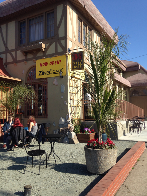Zing Café: newly opened opposite Ashby BART in Berkeley. Photo: Kate Williams