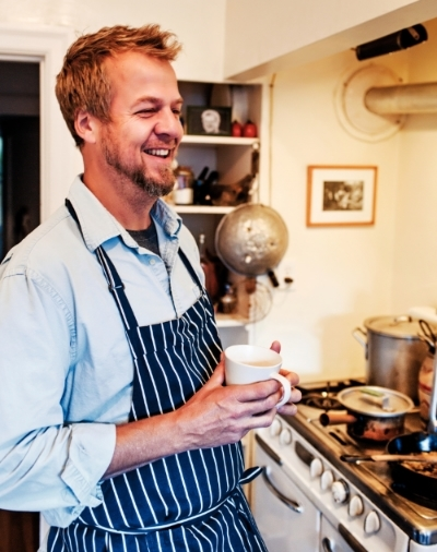 """Cal Peternell, chef at Chez Panisse and author of """"Twelve Recipes."""" Photo courtesy of Cal Peternell"""