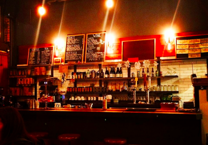 New in 2014: Cafe Underwood in Oakland. Photo: Underwood