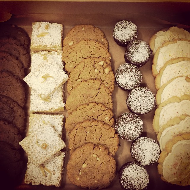 Cookies and pastries from San Francisco's Flour & Co which is opening in Berkeley . Photo: Flour & Co