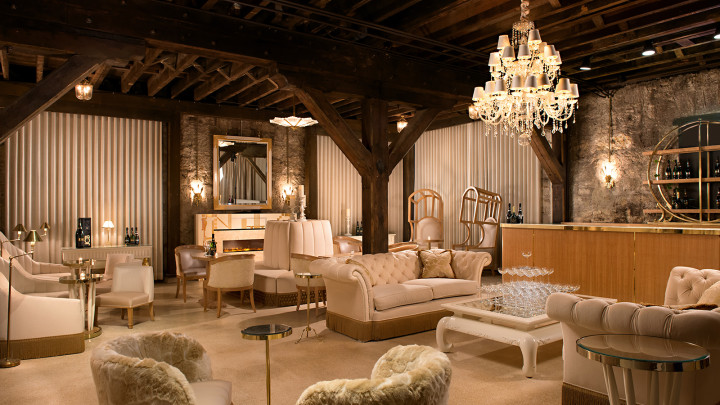 The Bubble Lounge at Buena Vista Winery. Photo: Boisset Collection