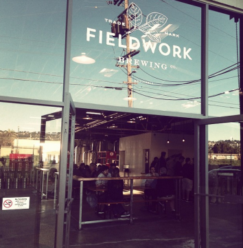 Fieldwork Brewing co. Photo: Tracey Taylor