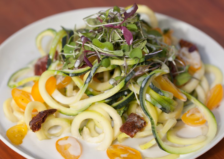 Zucchini Pasta. Photo: CORE Foods