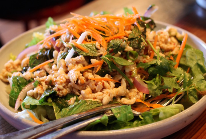 Larb Gai from Imm Thai. Photo: Kate Williams