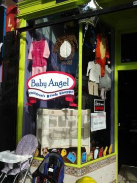 The storefront on Shattuck Ave. Photo: Baby Angel Children's Resale Shoppe.