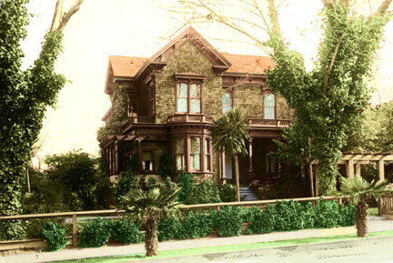 The oldest house in Elmwood Park, according to BAHA whose Spring Tour is on Sunday May 3. Photo: BAHA
