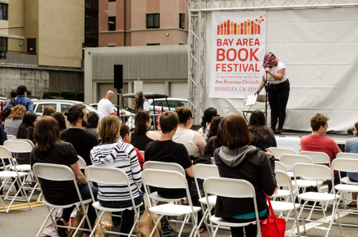 Teen stage at the Bay Area Book Festival. Photo: Richard Friedman