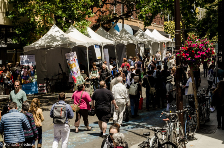 Bay Area Book Festival 2015. Photo: Richard Friedman