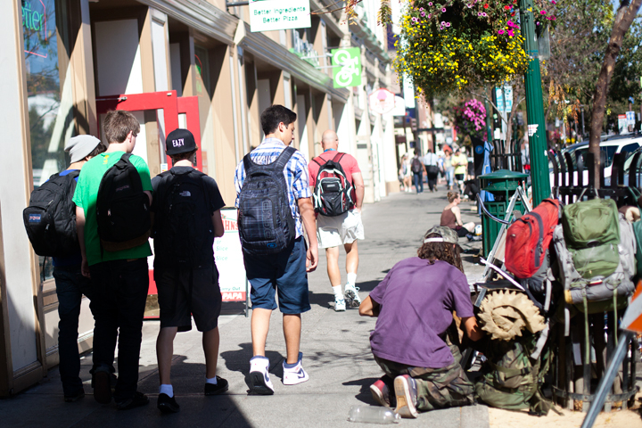 Since Measure S failed in 2012, many say Berkeley's homeless population has only grown. Photo: Emilie Raguso