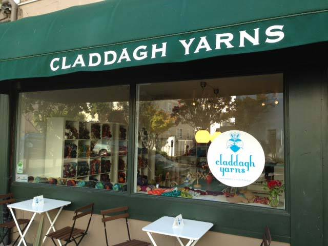 The owner of Claddagh Yarns on Walnut Street is looking to sell her business so she can spend more time with her sons. Photo: Claddagh Yarns