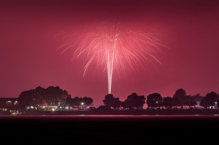 July 4th fireworks Photo: Pete Rosos