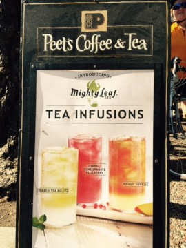 Peets Coffee and Tea acquired Mighty Leaf in 2014 and will now sell that tea in its stores.