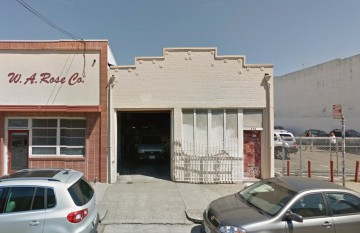 The future location of Forage Kitchen will be at 478 25th St. in Uptown Oakland. Photo: Google Maps