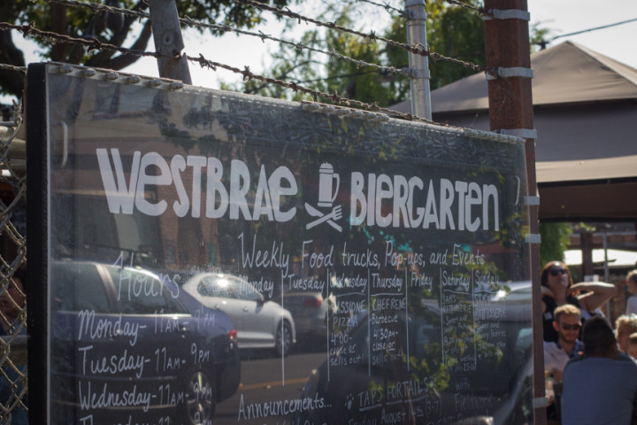 Westbrae Biergarten has been a nice addition to the quaint Westbrae neighborhood of Northwest Berkeley. Photo: Benjamin Seto.