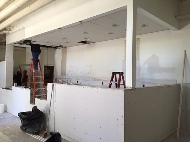 Victory Point Cafe is wrapping up construction. Photo: Victory Point/Kickstarter