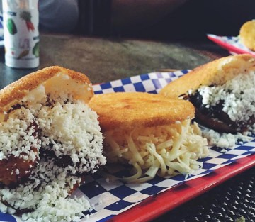 Arepas from Venezuelan Café. Photo: Venezuelan Café/Facebook