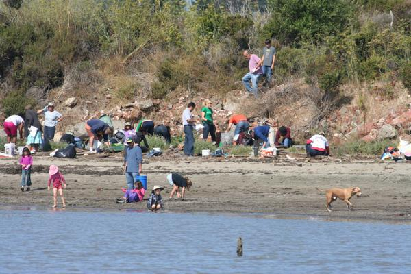 Coastal Cleanup Day is on Saturday Sept. 19, 2015. Photo: @TheCACoast on Twitter