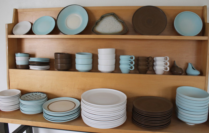 The California Line from Jered's Pottery. Photo: Kathleen Costanza