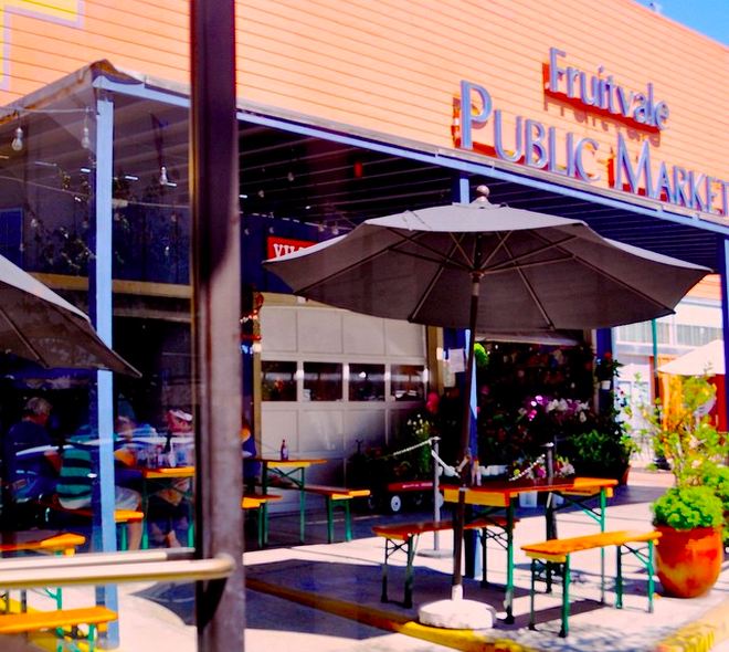 The new Fruitvale Beer Garden at The Half Orange. Photo courtesy: Jay Porter