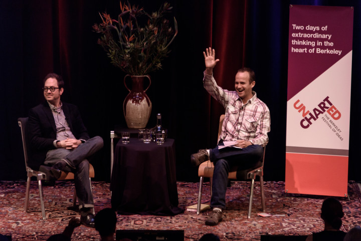 Scott Timberg and Patrick Dooley at Uncharted 2015. Photo: Pete Rosos