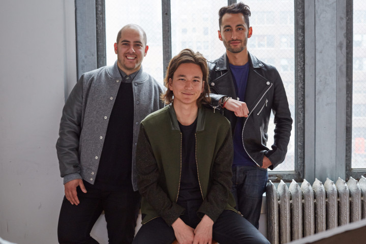 Left to right: Sweetgreen co-founders Nicolas Jammet, Jonathan Neman, and Nathaniel Ru. Photo: Sweetgreen