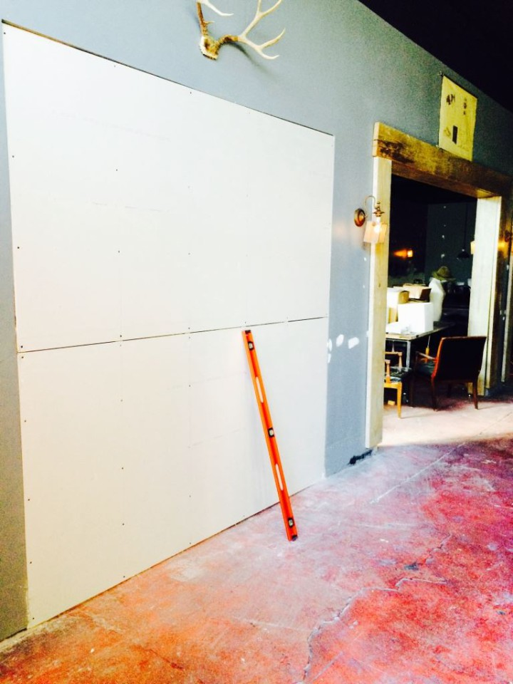 Part of the renovation at Albany's Ivy Room includes enclosing the stage area. Photo: Ivy Room/Facebook