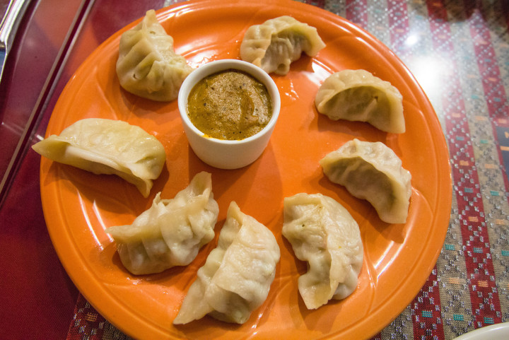 Chicken momos at Hamro Aangan. Photo: sstrieu/Flickr