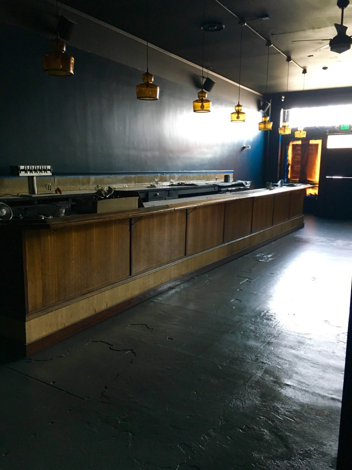 The new bar at Albany's Ivy Room. Photo: Brian Ziel