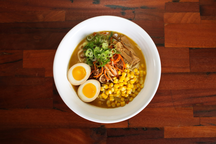 Miso ramen from Shiba Ramen. Photo: Jake Freed