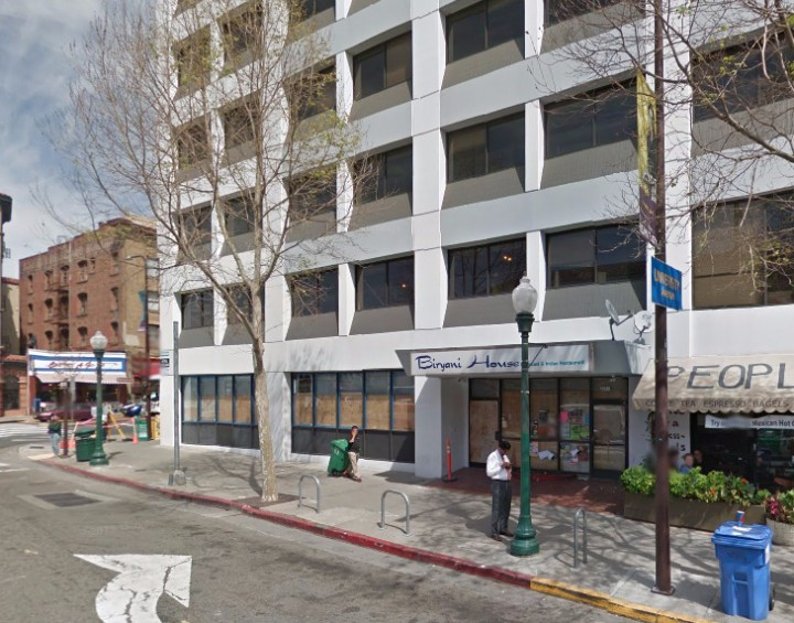 Blue Bottle Coffee along with a high-end ramen restaurant are set to open in the ground floor of the WeWork building at 2011 Shattuck Ave. in downtown Berkeley in 2016. Image: Google Maps