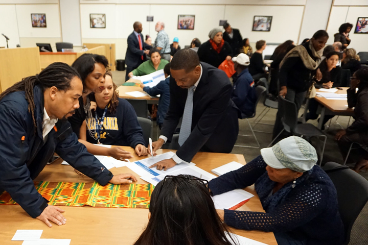 BUSD held a town hall in December about how to address racism on campus. Photo: Mark Coplan/BUSD