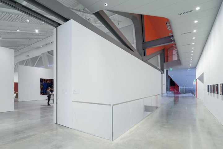 Gallery space at the new BAMPFA. Photo: Iwan Baan: courtesy Diller Scofidio + Renfro and BAMPFA