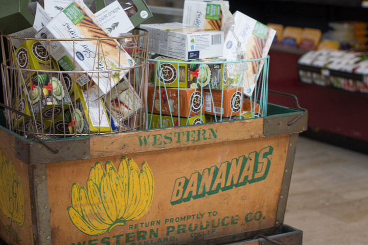 Little touches like retro produce crates add to the charm of Howden Market. Photo: Benjamin Seto