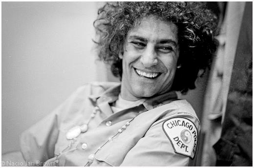 Abbie Hoffman in Chicago, 1969. Photo: Nacio Jan Brown